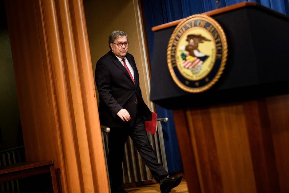 US-Justizminister William Barr.