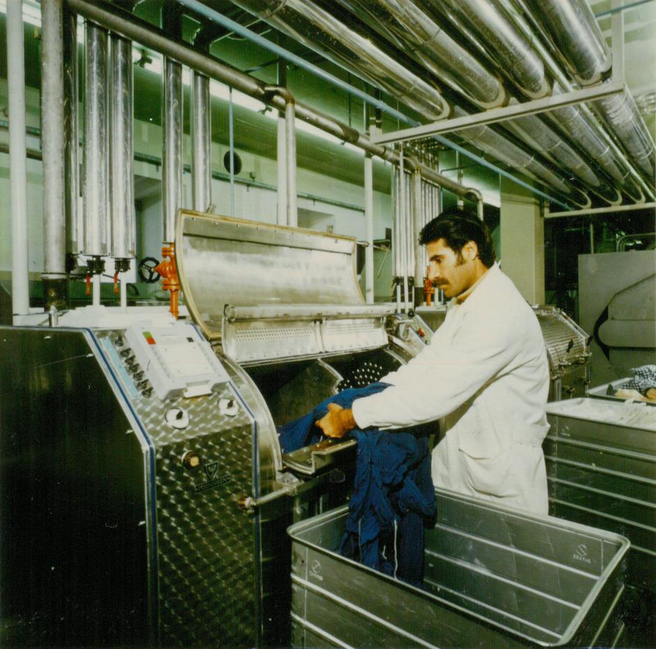 In der Textilindustrie in Imst waren die Gastarbeiter gefragt.