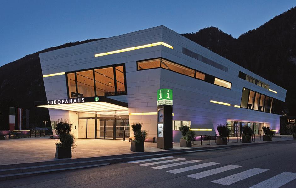 Im Europahaus Mayrhofen wird am Mittwochabend rund ums Thema Sicherheit im Ortszentrum debattiert.