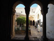 Eine Nonne in Bethlehem
