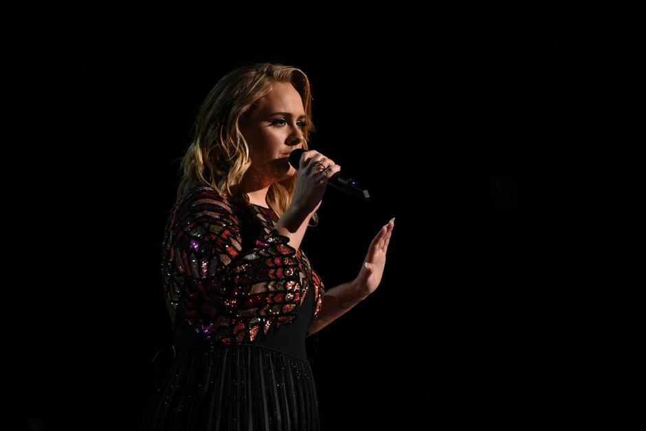 Sängerin Adele.