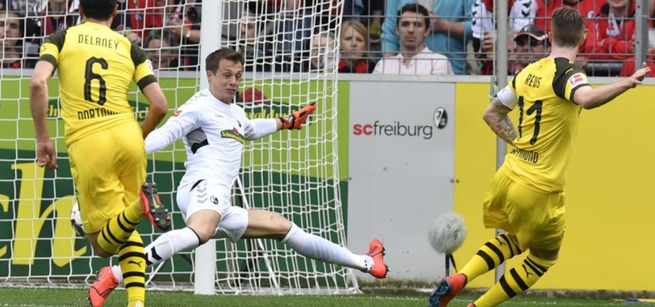 BVB-Kapitän Marco Reus trumpfte als Torschütze und Assistgeber auf.