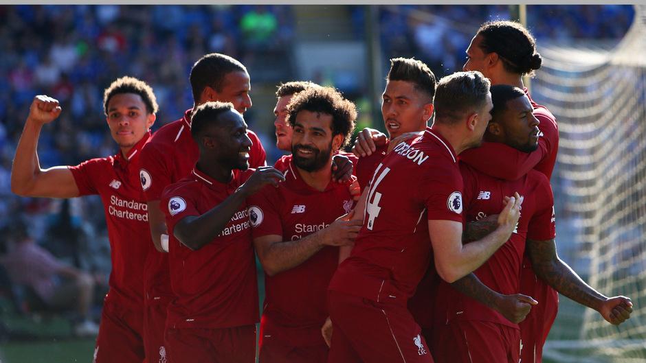 Liverpool fuhr gegen Cardiff City den erwarteten Pflichtsieg ein.