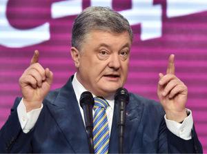 Der bisherige Präsident Petro Poroschenko räumte bereits seine Niederlage ein.
