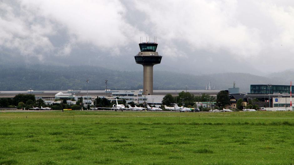 Airport Salzburg.