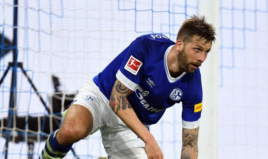 Guido Burgstaller und Schalke haben vier Runden vor Schluss sechs Punkte Vorsprung auf Relegationsplatz 16.
