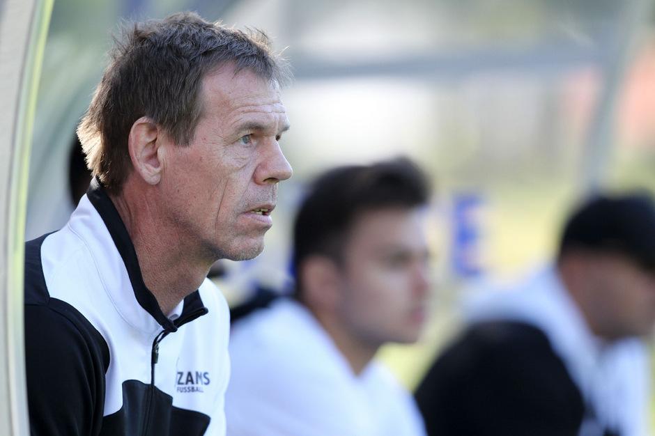 Zams-Trainer Josef Haslwanter.