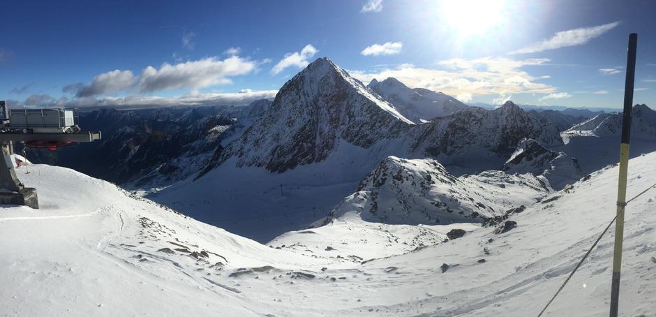 Die Forscher erprobten am Stubaier Gletscher neue Messmethode.
