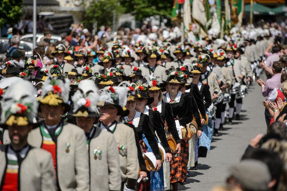 Der Fest-Umzug beim Gauder Fest ist eines der Highlights.
