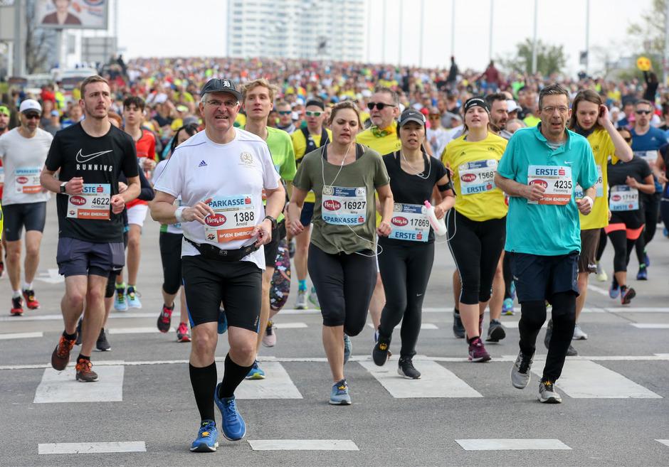 Bei der 36. Auflage des Vienna City Marathons kam es zu einem tragischen Zwischenfall.