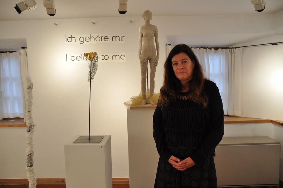 Eva-Maria Huter will die Frau als eigenständiges Wesen und nicht als Ware des Mannes begriffen wissen.