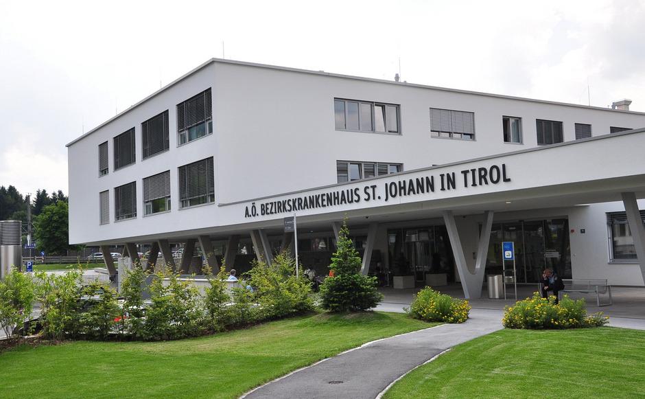 Das Krankenhaus St. Johann.