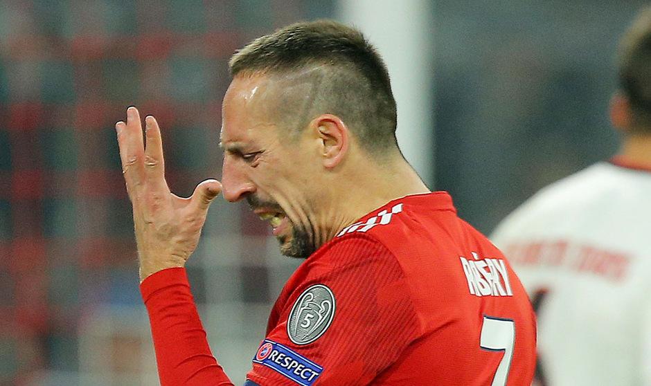 Franck Ribery verpasst das Pokal-Spiel in Bremen aufgrund neuromuskulärer Probleme.