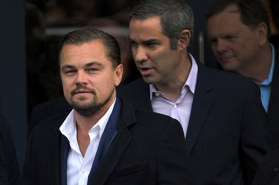 US-Schauspieler Leonardo di Caprio.
