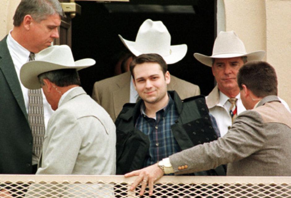 John William King im Februar 1999, nachdem er zu Tode verurteilt worden war.