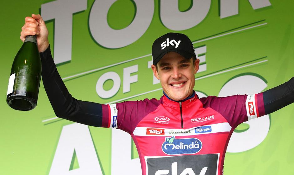 Pawel Siwakow liegt in der Gesamtwertung der Tour of the Alps weiter an der Spitze.