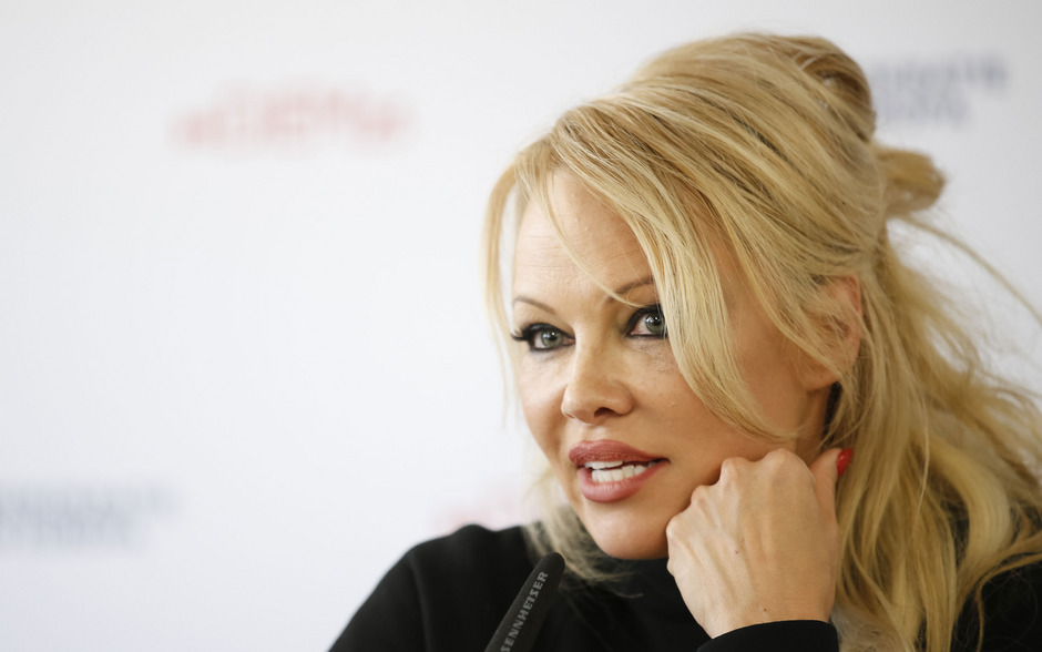 Schauspielerin Pamela Anderson.