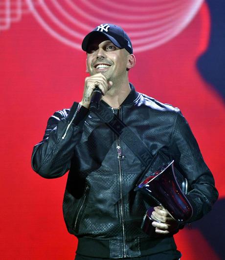 RAF Camora gewann in der Kategorie Hip-Hop/Urban.