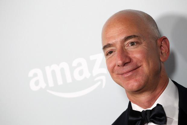 Founder of Amazon Jeff Bezos.