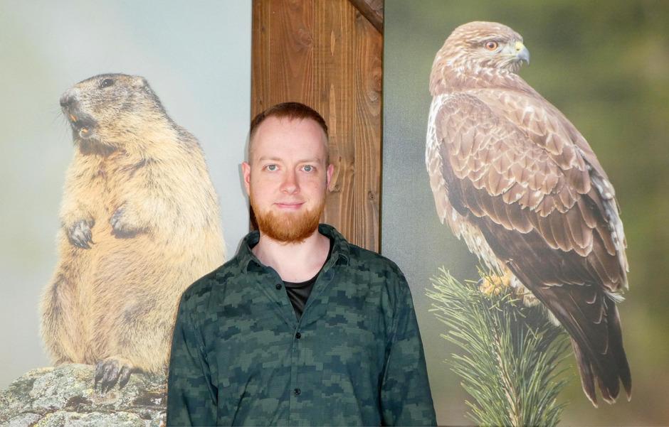 Vor seiner Linse bevorzugt der 26-jährige Hobbyfotograf Florian Lottersberger besonders heimische Wildtiere.