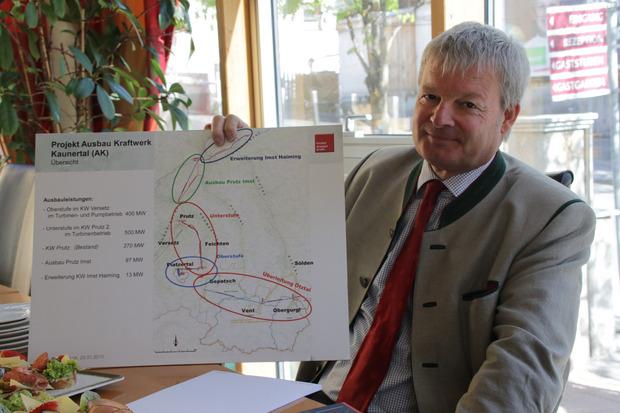 Die Tiwag folgt der österreichischen Energiestrategie und hält an ihren Ausbauplänen fest.