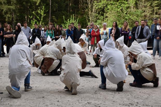 Die Schüler der VS Johannes Messner waren auch mit von der Partie.