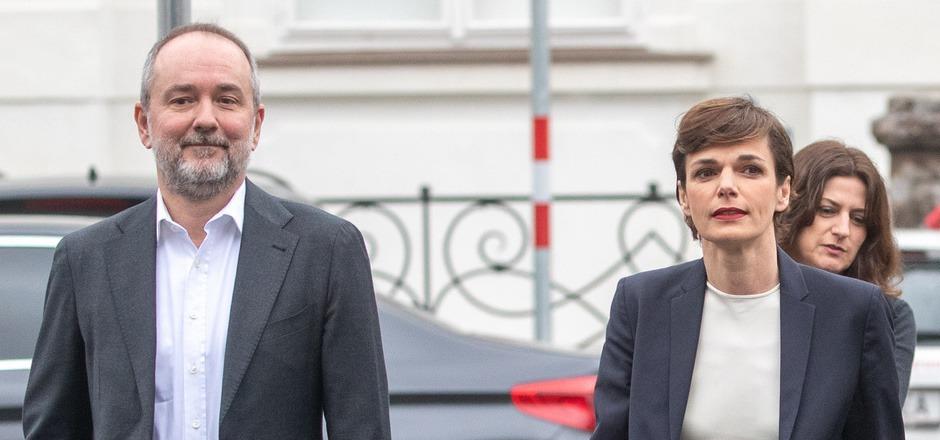 Wie hältst du es mit den Freiheitlichen? SPÖ-Chefin Pamela Rendi-Wagner und Bundesgeschäftsführer Thomas Drozda.