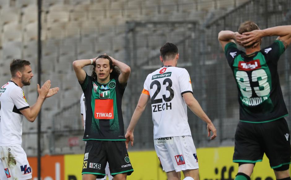 Am Dienstag waren Taferner und Gründler am Boden zerstört, während die Altacher im Tivoli jubelten. Heute will sich der FC Wacker revanchieren.