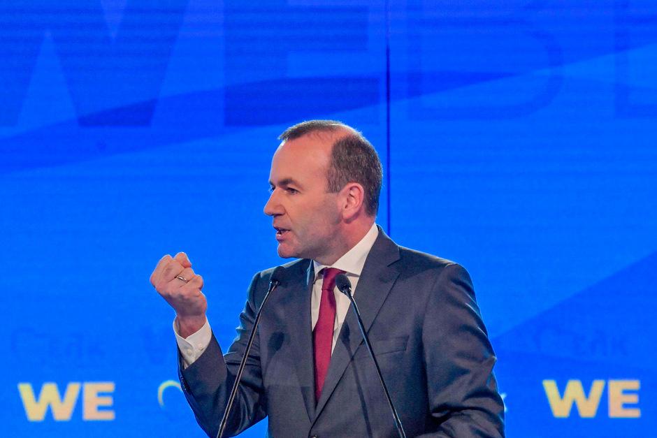 EVP-Spitzenkandidat Manfred Weber.