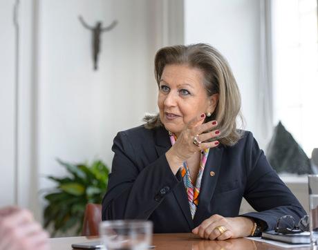 Landesrätin und bündische Obfrau: Patrizia Zoller-Frischauf.