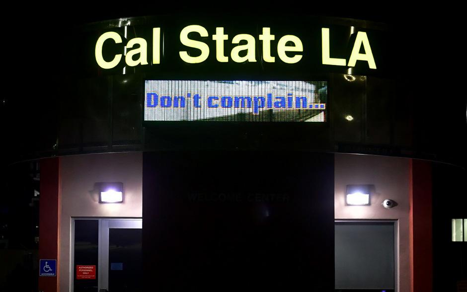 California State University: Nur wer einen Impfnachweis hat, darf sich wieder frei bewegen.