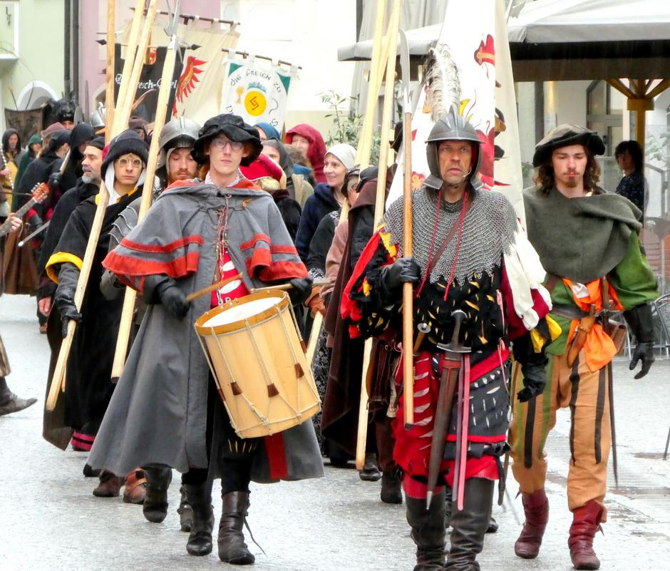 Rattenberg steht an diesem Wochenende ganz im Zeichen des Mittelalters.