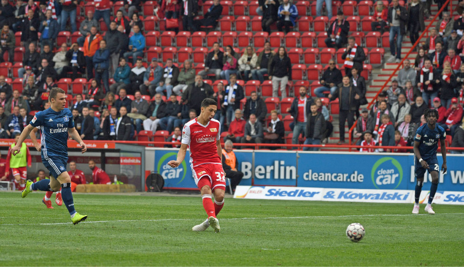ÖFB-Kicker Robert Zulj traf für Union Berlin beim Sieg über den HSV.