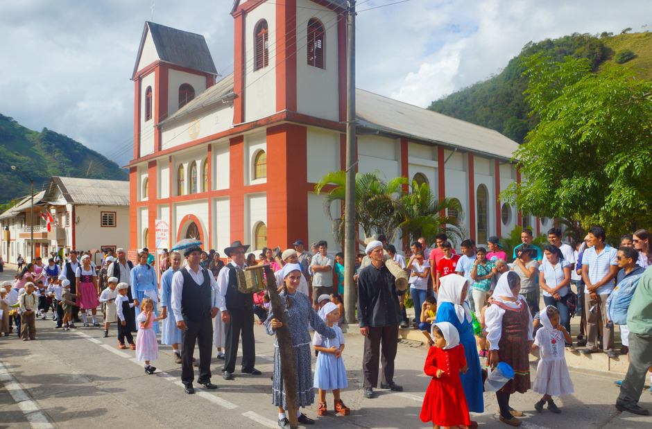 Der Kolonistentag in Pozuzo – Ende Juli – ist das größte Fest im Auswandererdorf.