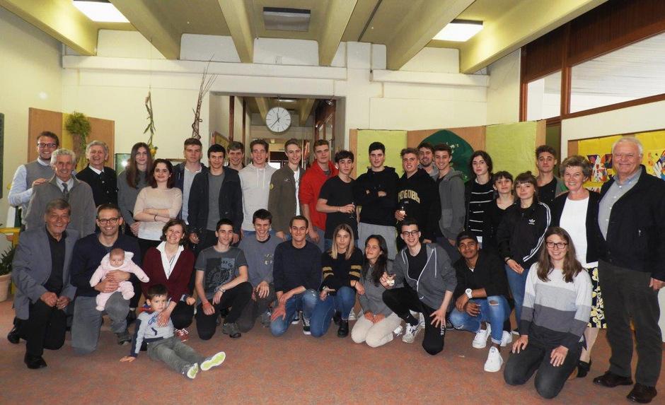 Mit viel Neugier und Freude besuchten die Trienter Jugendlichen Schwaz und die Schule VS Johannes Messner.