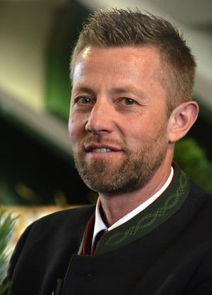 Bezirksjägermeister Klaus Ruetz.