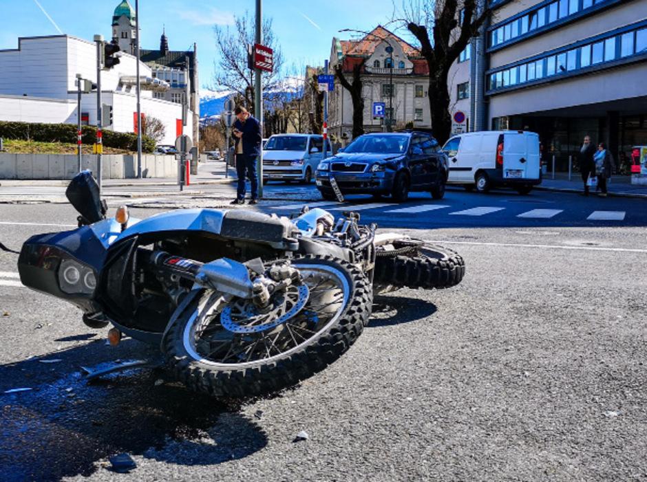 2018 war jeder vierte Verkehrstote ein Motorradfahrer. (Symbolfoto)
