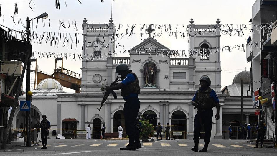 Auch die St. Anthony's Kirche in Colombo war Ziel der Anschlagsserie.