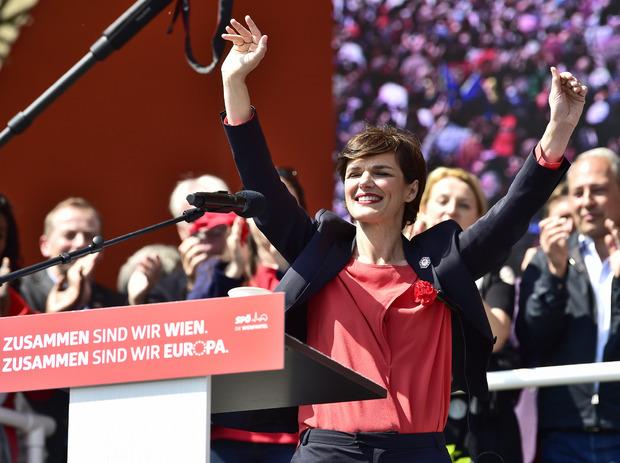 SPÖ-Parteichefin Pamela Rendi-Wagner war Abschlussrednerin.
