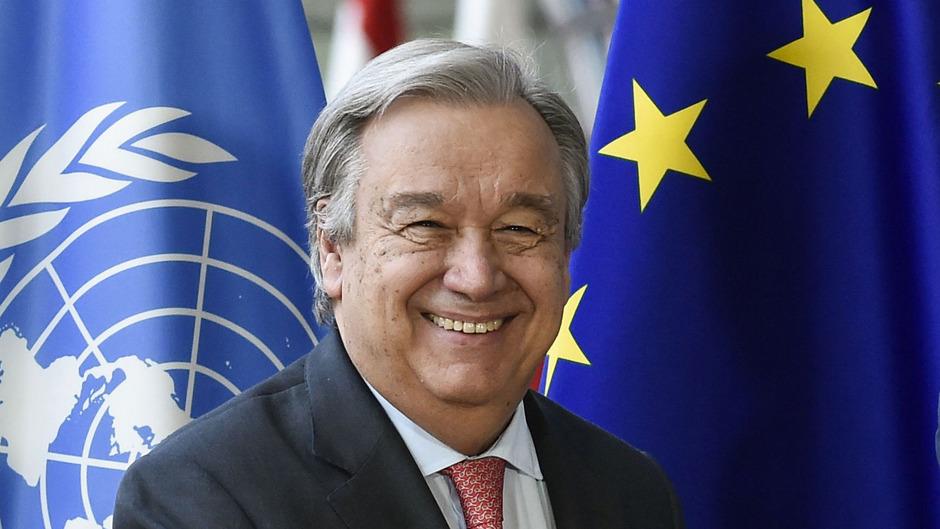 """Der aus Lissabon stammende Antonio Guterres ist seit jeher Humanist, aber auch immer schon Realist und """"Macher""""."""