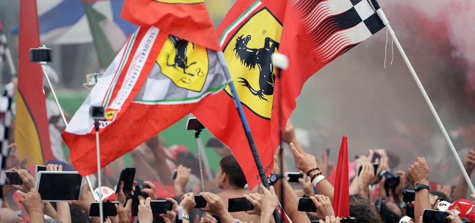 Die Tifosi dürfen jubeln: Der Grand Prix in Monza soll bis 2024 gesichert sein.