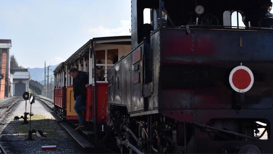 Gestern nahm die Achenseebahn ihren Fahrbetrieb auf.
