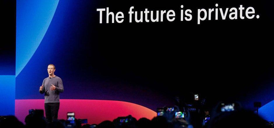 """""""Die Zukunft ist privat"""": Mark Zuckerberg verspricht den Usern mehr Schutz der Privatsphäre."""