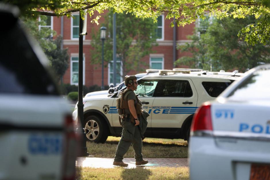Die Polizei konnte den Schützen an der Universität von North Carolina stellen.