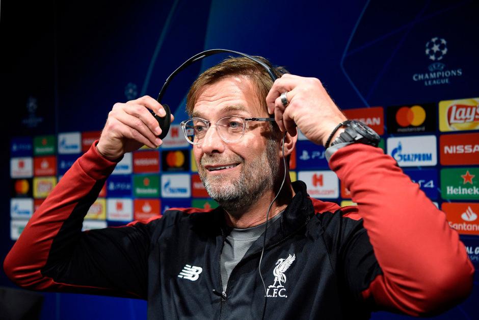 Liverpool-Coach Jürgen Klopp gibt sich vor dem Hinspiel entspannt.