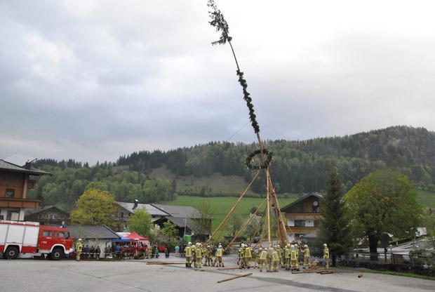 In Walchsee waren die Feuerwehrmänner heuer gefordert.