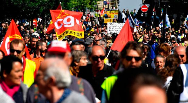 Auch in Bordeaux wurde demonstriert.