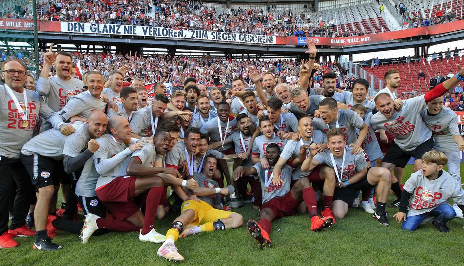 Die Salzburger jubelten über den fünften Cup-Sieg in den vergangenen sechs Jahren.