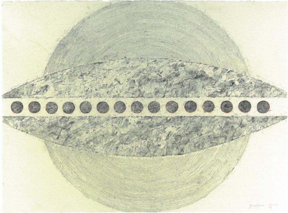 Titellose Zeichnung von Gernot Baur, entstanden 2016.<span class=&quot;TT11_Fotohinweis&quot;>Foto: Baur </span>