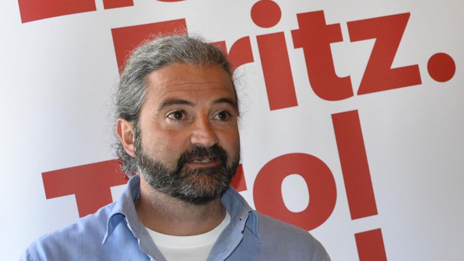 Markus Sint, Landtagsabgeordneter der Liste Fritz.